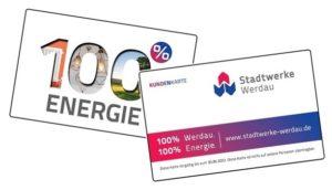 Kundenkarte der Stadtwerke Werdau